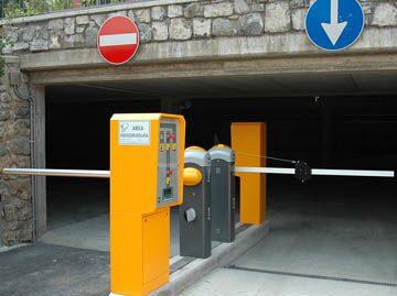 Установка паркоматов